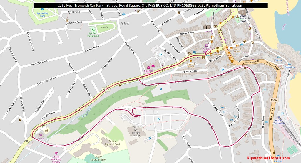 Map: Route-2
