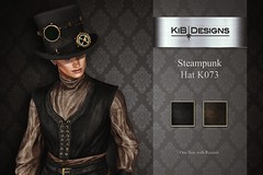 KiB Designs - Steampunk Hat K073 @Aenigma Event