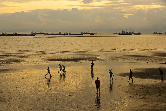 Khejur Tola Beach - খেজুরতলা বিচ