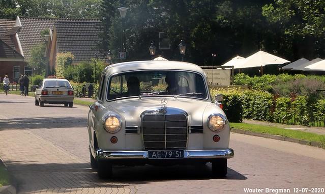 Mercedes W121 190D 1960