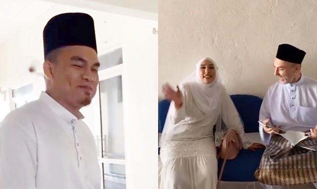 Zarina Anjoulie Selamat Bernikah Dengan Eilyas Azhar