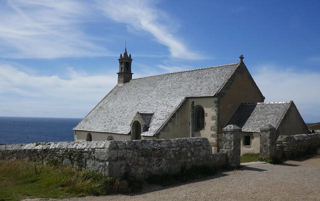 Chapelle St They (XVIIe), Pointe du Van, Cléden-Cap-Sizun, Finistère, Bretagne, France.