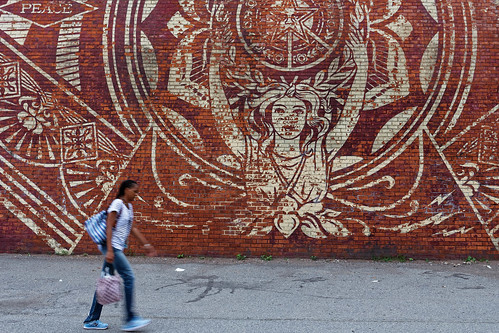 New York street art from Obey
