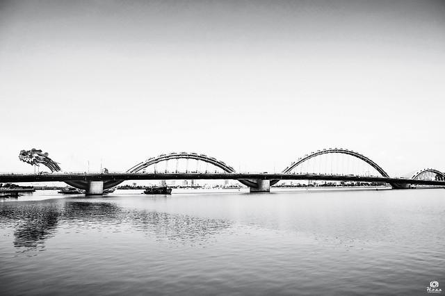 Dragon bridge - Da Nang city, Vietnam