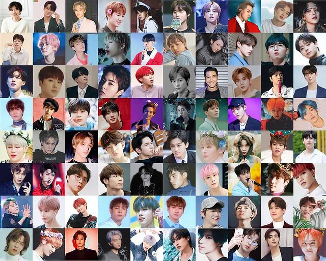 Pick The Idol Kpop Boys Ver Quiz By Yunnitrs