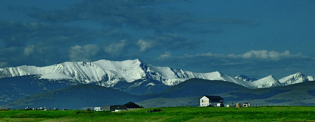 Montana - Galen - mid july in western Montana - The west Goat peak