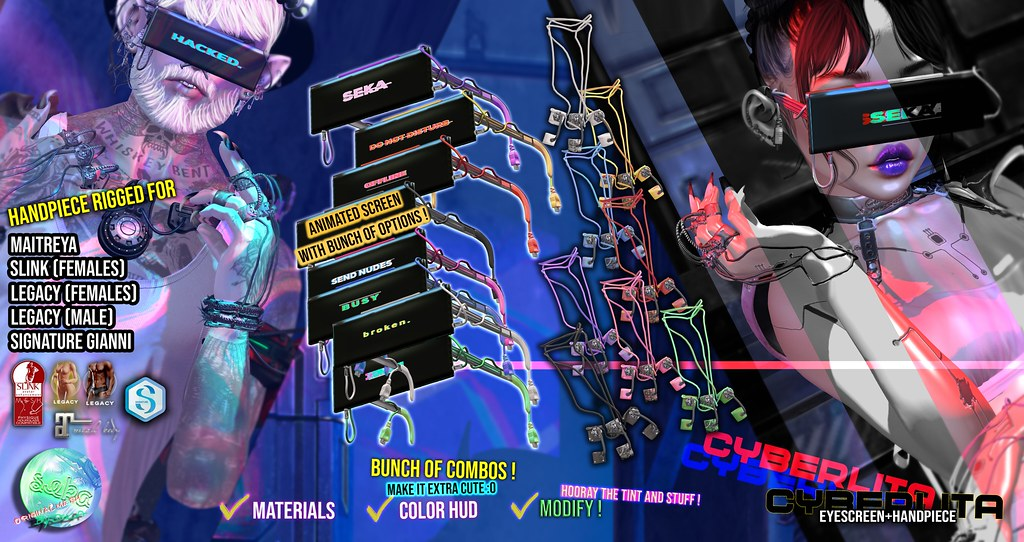SEKA's Cyberlita Set