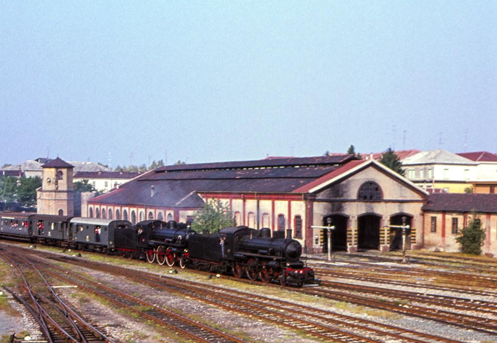 FS Gr 640.121 + 640.003 Casale Monferrato 17/09/1978. Foto Roberto Trionfini