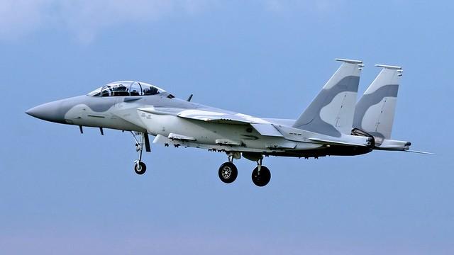 Qatari F-15QA (photo: Chase Kohler Aviation)