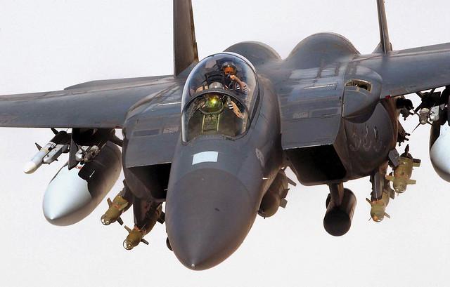USAF F-15E Strike Eagle (Wikimedia Commons)