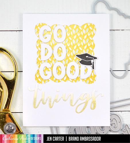 Jen Carter Go Do Good Things Graduation Scallop 1
