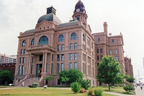 architecture cityscape texas 1993 historical courthouse fortworth governmentbuilding renaissancerevival
