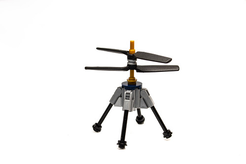 Mars Helicopter   A LEGO helicopter loosely based on the ...