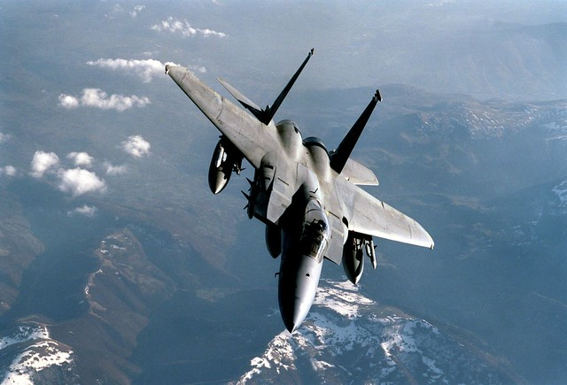 USAF F-15C Eagle (Wikimedia Commons)