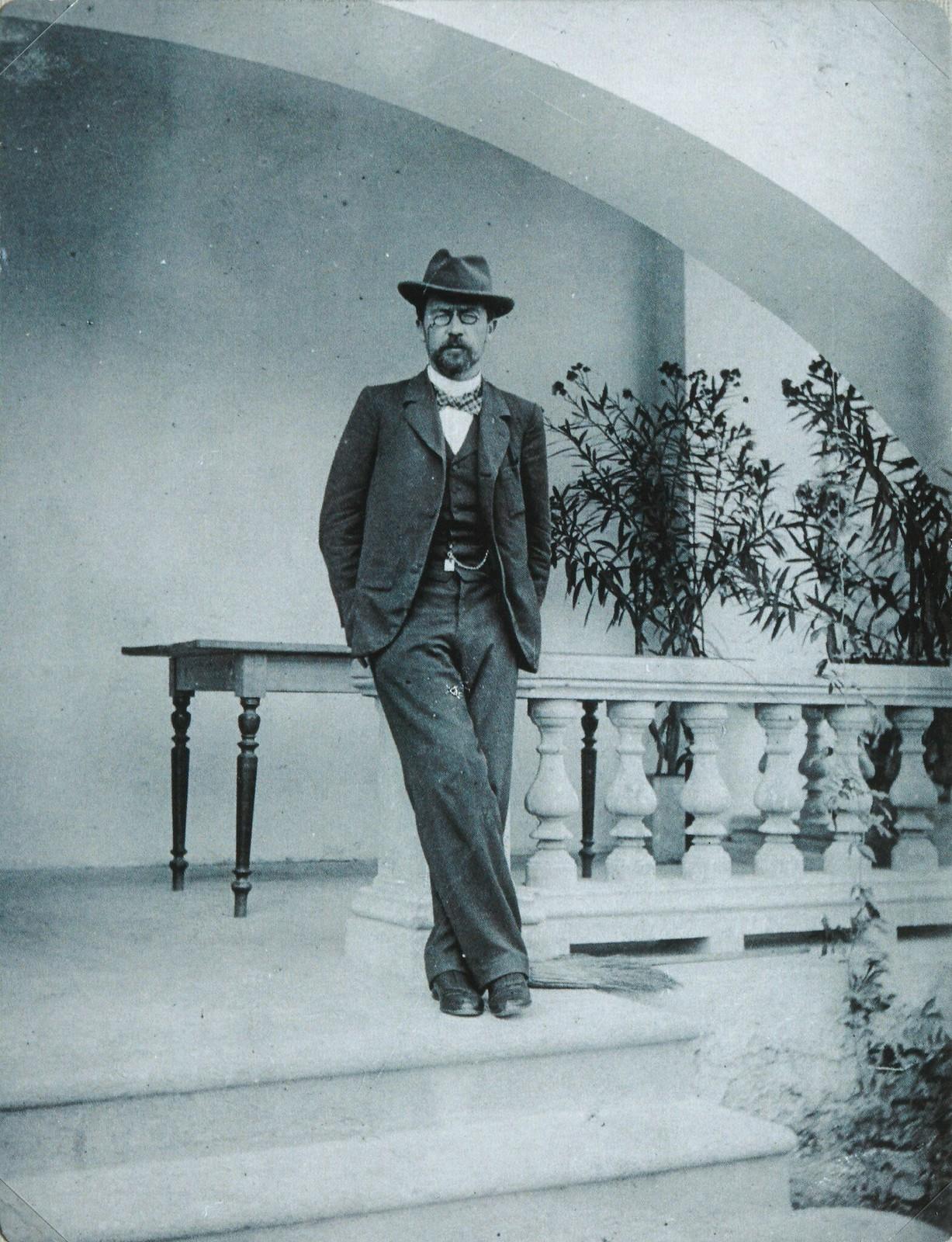 1899-1900. Антон Чехов в Ялте