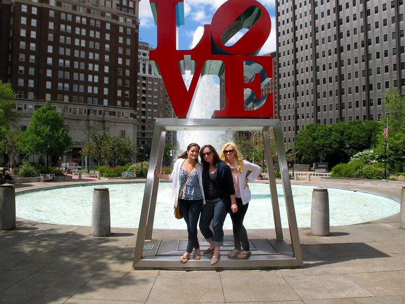 Philadelphia Girls Trip | LOVE Statue Philly | A Look Back at 10 Years of Blogging Living After Midnite Blogger Jackie Giardina
