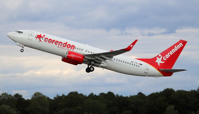 Corendon Airlines Europe, 9H-TJC, MSN 38012, Boeing 737-86N, HAM-EDDH, Hamburg