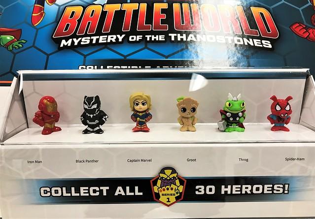 Marvel Battleworld figures
