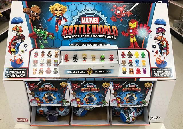 Marvel Battleworld display