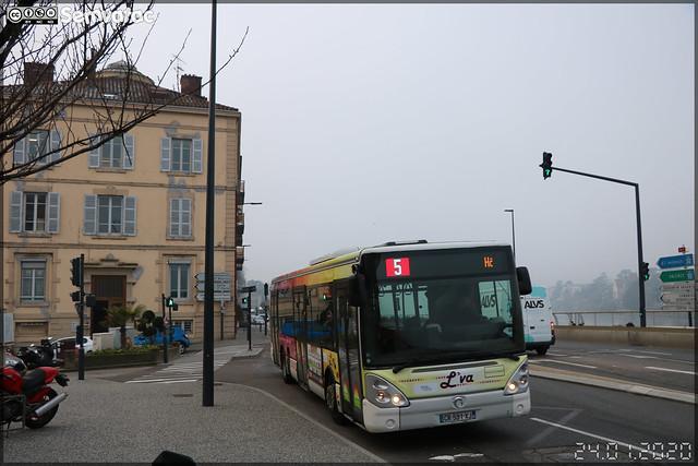 Irisbus Citélis 12 – Vienne Mobilités (RATP Dev) / L'va (Lignes de Vienne Agglomération) n°78