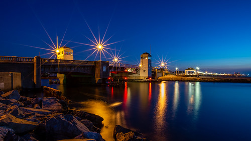 belmar belmarnewjersey sunrise longexposure newjersey jerseyshore bridge