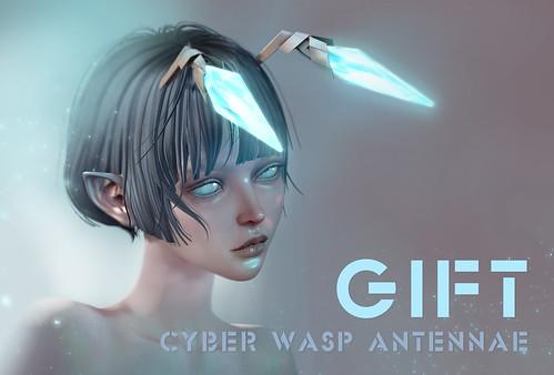 HARO GIFT Cyber Wasp Antennae