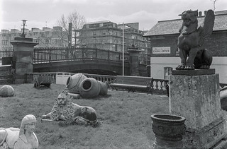 Regents Canal, Blomfield Rd, Little Venice, Westminster, 1987 87-4b-44-positive_2400