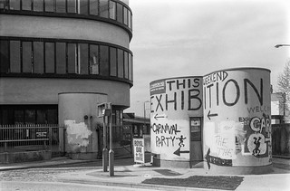 Exhibition, Harrow Road, Paddington, Westminster, 1987
