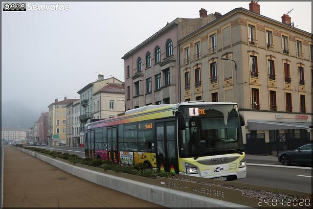 Iveco Bus Urbanway 12 – Vienne Mobilités (RATP Dev) / L'va (Lignes de Vienne Agglomération) n°84