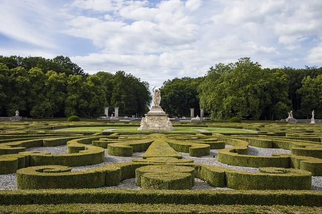 Schloss Heckenlabyrinth