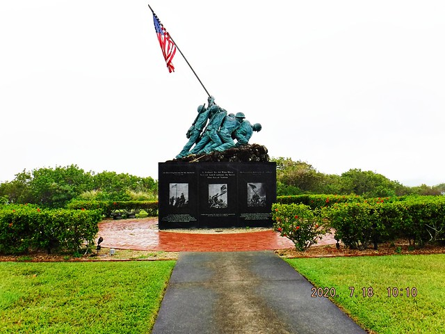 A01 200718 HR Iwo Jima Memorial, USMC Kaneohe