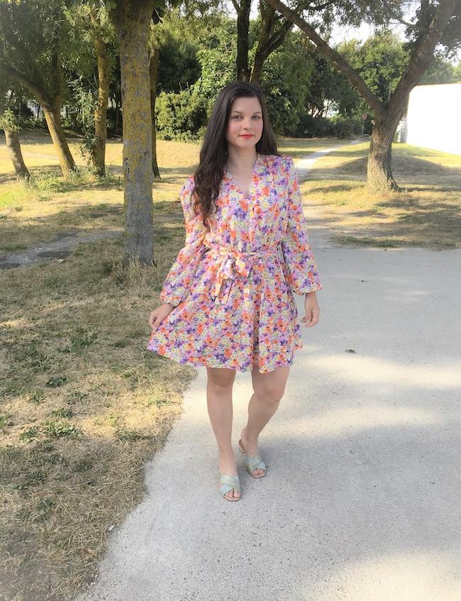 Le cas intemporel de la robe fleurie pour toutes les morphos