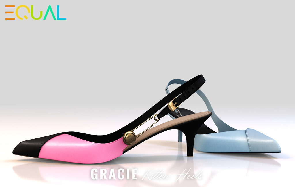 EQUAL – Gracie Kitten Heels