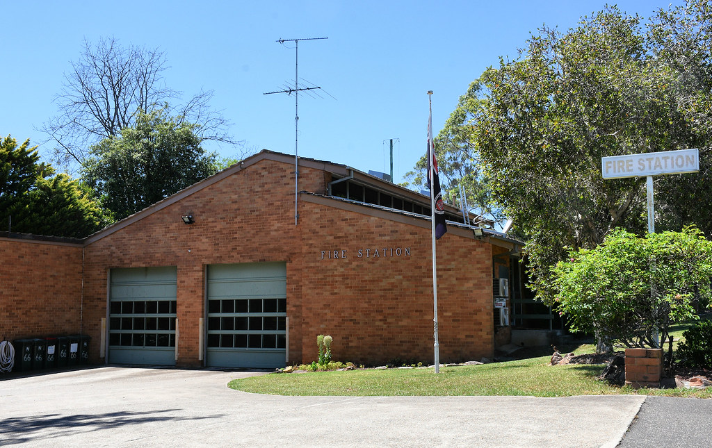 Fire Station, Cambelltown, Sydney, NSW.