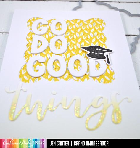 Jen Carter Go Do Good Things Graduation Scallop Closeup 1