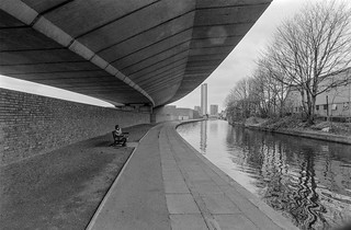 Westway, Regents Canal, Westbourne Grove, Westminster, 1987 87-4c-22-positive_2400