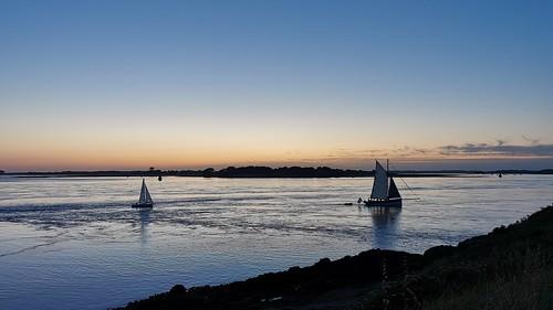 sunset bluehour heurebleue morbihan
