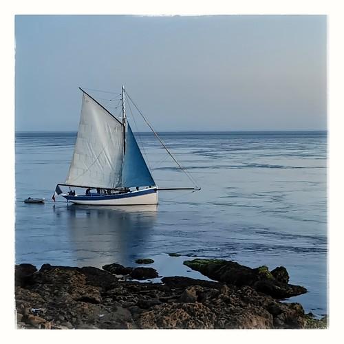 heurebleue bluehour sunset oldship ship