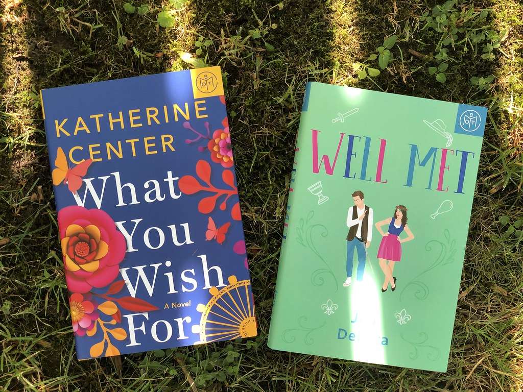 Add-ons for my July Book of the Month Box