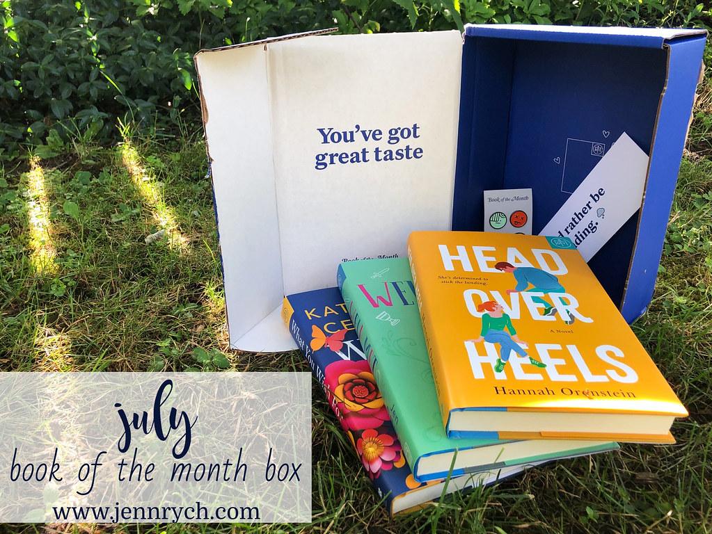 My July BOTM Box | www.jennrych.com