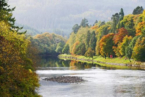 ericrobbniven scotland dundee rivertay landscape autumn walking cycling