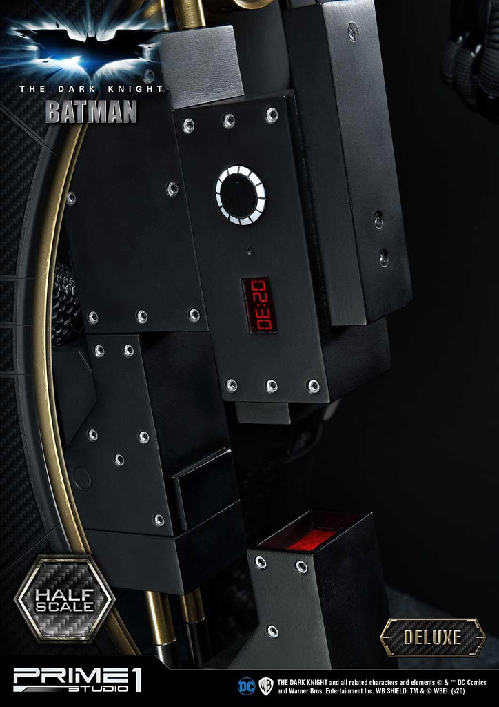 經典貝爾版蝙蝠俠重磅再現!Prime 1 Studio《黑暗騎士》蝙蝠俠 1/2比例全身雕像(ダークナイト バットマン)普通版/ DX版