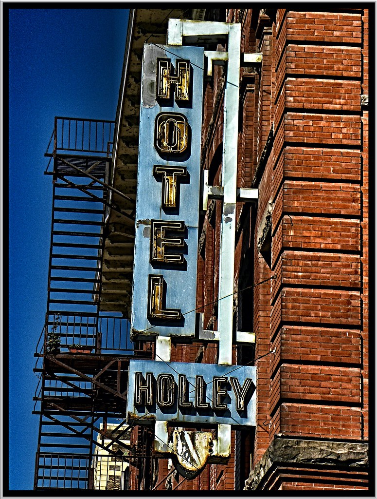 Hotel Emery ~ Bradford PA ~ Vintage Neon Sign - AKA Hotel Holley