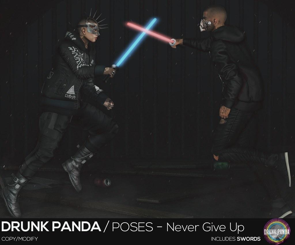 Drunk Panda – NeverGiveUp