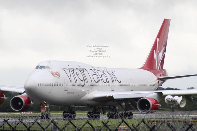 Virgin Atlantic Airways - G-VAST