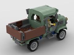 Adventurer's Flatbed - Rear