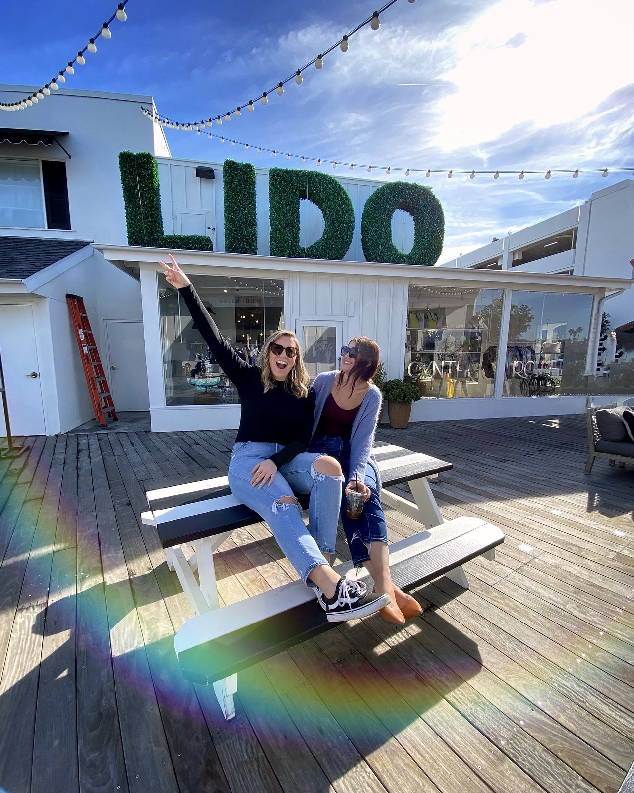 Lido Village Newport Beach California | A Look Back at 10 Years of Blogging Living After Midnite Blogger Jackie Giardina