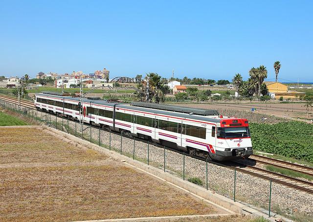 Class 447 EMU,  Alboraya,  6 July 2020