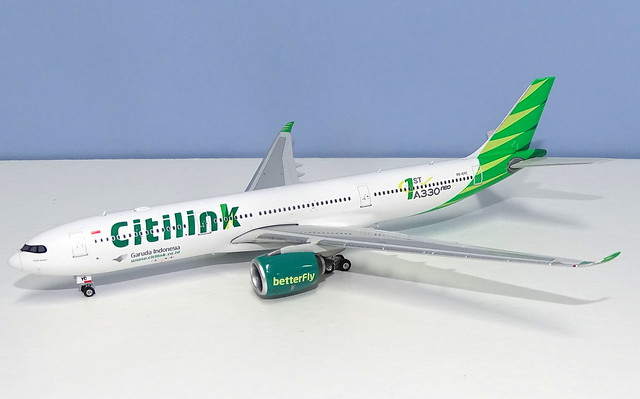 Citilink Airbus A330-941NEO PK-GYC