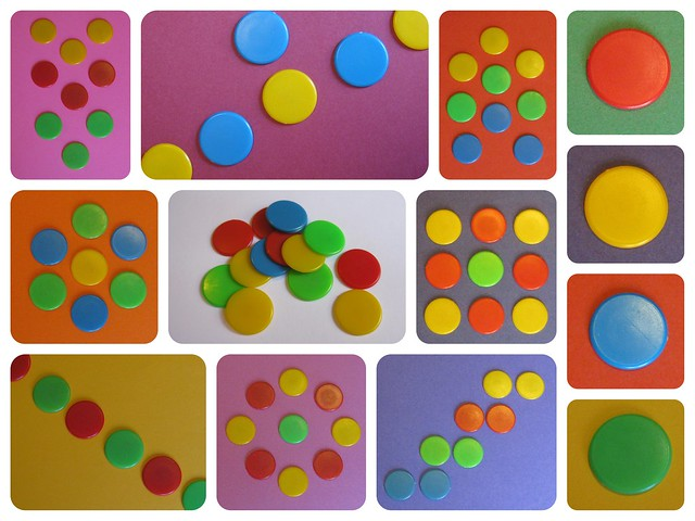 Colourful Ludo Chips